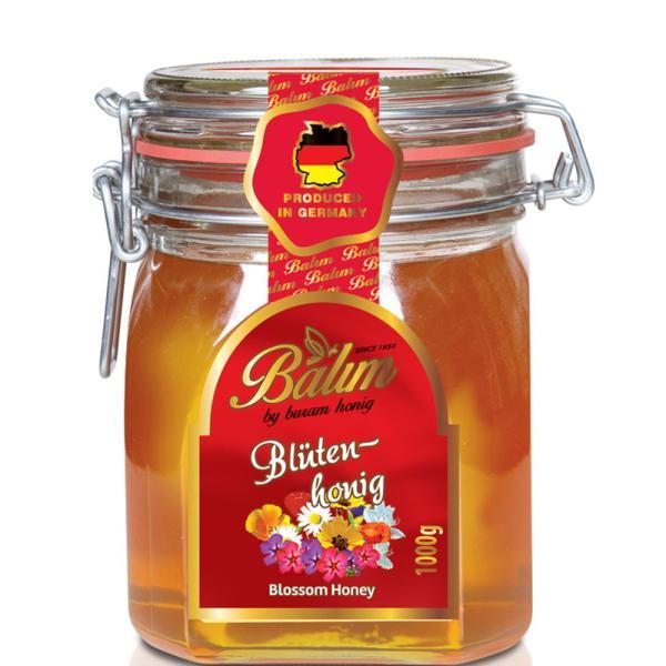 はちみつ 1kg 送料無料 バリム ブロッサムハニー 1kg ドイツ産 百花 蜂蜜 1kg 百花蜜 Balim(バリム)ハニー はちみつ ハチミツ