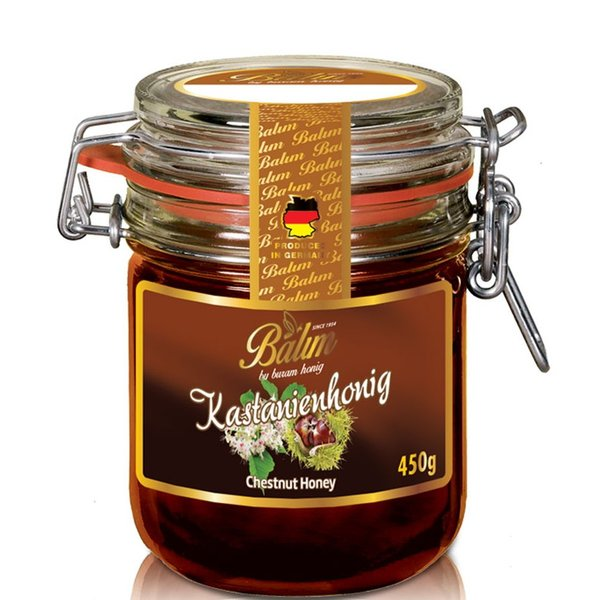 はちみつ バリム チェスナッツハニー 450g 栗のはちみつ マロンハニー ドイツ産 くり蜂蜜 450g Balim(バリム)ハニー はちみつ ハチミツ 蜂蜜