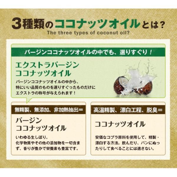 ココナッツオイル 国内充填 有機JAS認定 オーガニック エクストラ バージン ココナッツオイル 200ml(185g)|hands|04