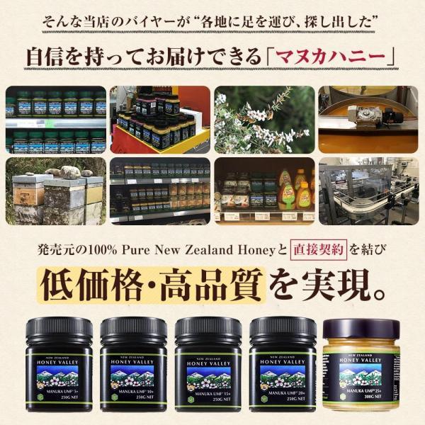 マヌカハニー UMF15+ 250g ハニーバレー マヌカハニー MGO 514〜828相当 はちみつ 蜂蜜|hands|07