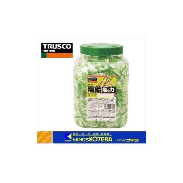 【TRUSCO  トラスコ】塩飴 塩の力 750g袋入 ボトルタイプ (青梅味) TNU-750 [※軽税]