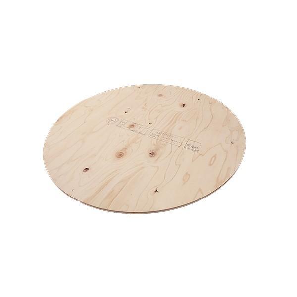 作業台 木製 ワークテーブル 天板 / WORK LEG ワークレッグ専用天板 丸 直径89cm 2196697 取寄せ商品 送料別見積 大型・割れ物