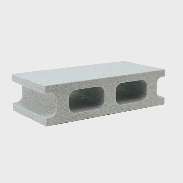 スチロールブロック レンガ / 発泡スチロール ブロック K-ブロック 小 グレー サイズ:260×127×67mm 【mono】 6195512 送料別 通常配送 / レンガブロック
