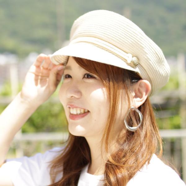 キャスケット帽キャスケットレディースUV夏小さめuvカット麦わら帽子帽子春夏日除け日よけガーデニングアウトドア紫外線対策女性用運