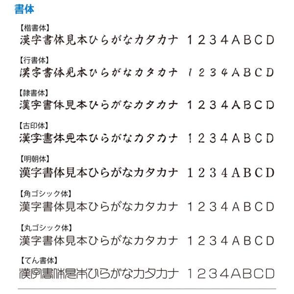 シャチハタ 角型印 1351号 ポケット用 (  印面サイズ : 13×51mm ) Aタイプ|hanko-king|05