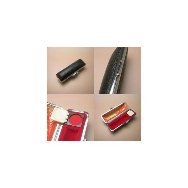 実印 個人印鑑/黒水牛12.0〜15.0mmサイズ 実印、銀行印、認印 ケース付|hanko-king|02