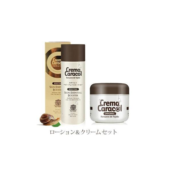 ジャミンギョン クレマ カラコール 高純度 カタツムリクリーム60g&カタツムリローション150ml セット品|hanryuwood