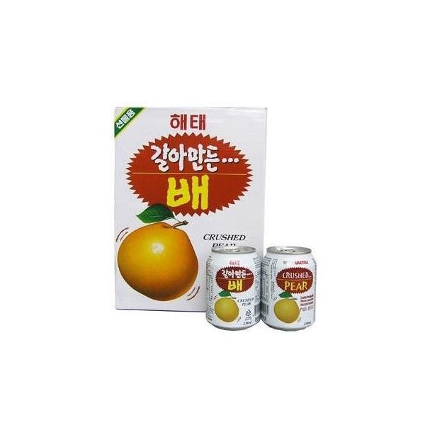 おろし梨ジュース・1ケース(238ml x 12本/ 缶)果実たっぷり|hanryuwood