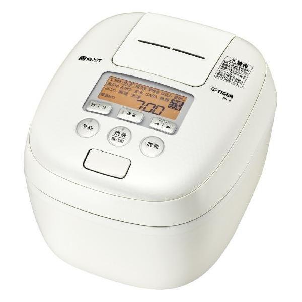 【送料無料】 タイガー TIGER JPC-B102-WM ミルキーホワイト 圧力IH炊飯器 5.5合炊き 炊きたて 360°デザイン 熱封土鍋コーティング
