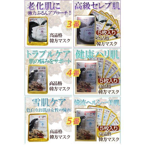 漢方マスクシートパック 5枚 (お試し)|hanryuwood|02