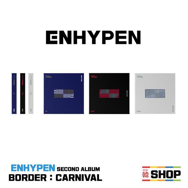 特典付き ENHYPENエンハイフンSECONDALBUM BORDER:CARNIVAL ランダムI-LANDアイランド/H