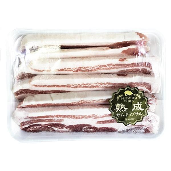 【豚肉/輸入産】熟成豚バラスライス(★12mm/1kg)〔クール便選択〕【2〜3日後発送】