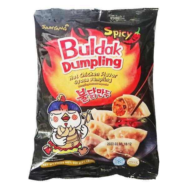 【三養】 ブルダック餃子(激辛) 600g〔クール便選択〕【韓国食品・冷凍餃子】