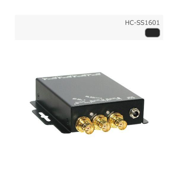 SDI スプリッタ 1入力 6出力 リクロック対応 カスケード接続対応 【スプリッター 分配器 延長】|hanwha