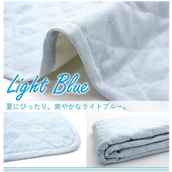 麻 敷きパッド セミダブル  120×200  フレンチリネン100% 日本製 [りんね オリジナル] | 凛寝 麻100 ひんやり 冷感 涼感 夏 洗える ベッドパッド 敷パッド|hanzam|05