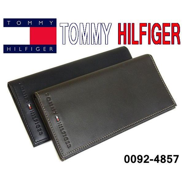 1f18ac5b33ec トミー ヒルフィガー TOMMY HILFIGER 長財布 メンズ 財布 0092-4857 本革 財布 ...