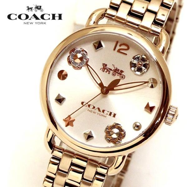 promo code 81920 589cf コーチ COACH レディース 腕時計 14502811 DELANCEY デランシーウィズ チャーム レディース腕時計 ウォッチ イエローゴールド