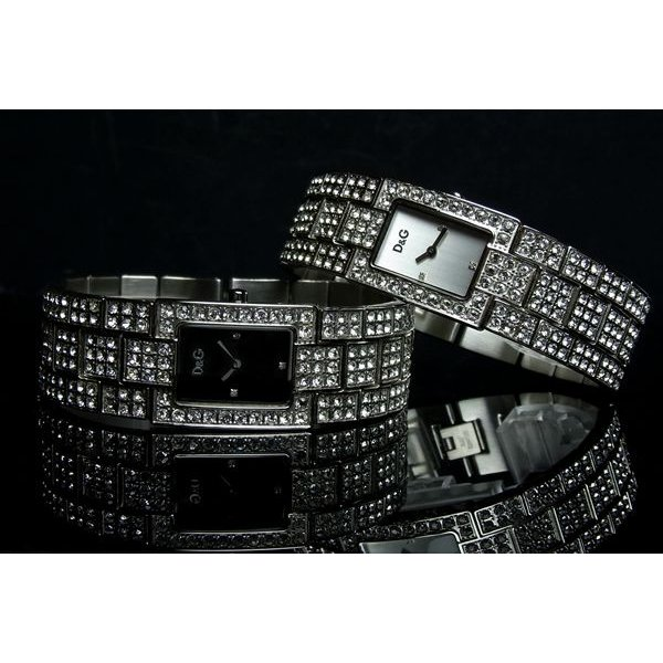 D&G ドルチェ&ガッバーナ レディース 腕時計 C'est chic DOLCE&GABBANA|hapian|02