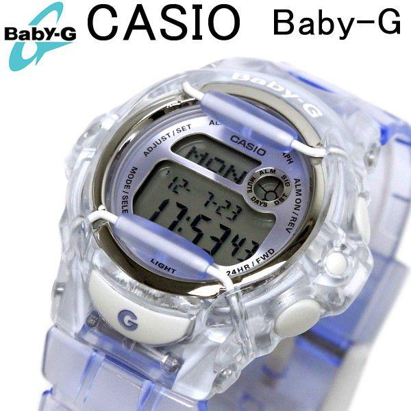 カシオ ベビーG CASIO Baby-G レディース 腕時計 リーフ REEF パープル BG-169R-6 べ ...