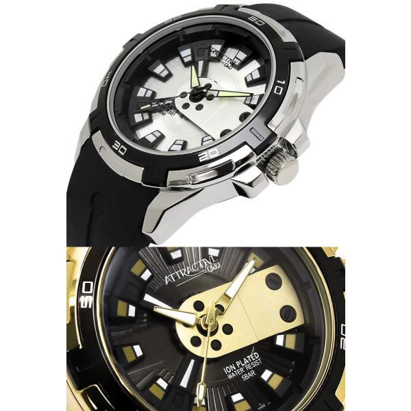 メンズ腕時計 Q&Q 海外モデル キューアンドキュー 限定 腕時計 アトラクティブ DA54J|hapian|02