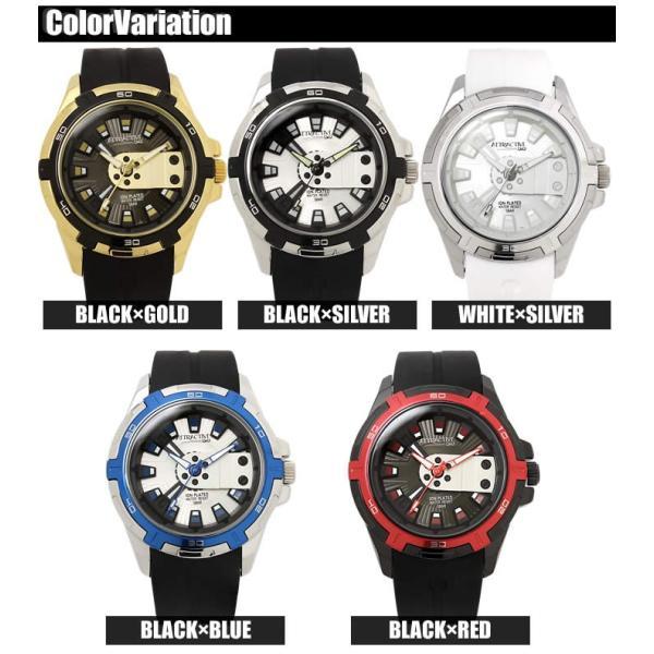 メンズ腕時計 Q&Q 海外モデル キューアンドキュー 限定 腕時計 アトラクティブ DA54J|hapian|03