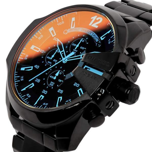 ディーゼル メンズ腕時計 DIESEL クロノグラフ メガチーフ MEGA CHIEF DZ4318|hapian|02