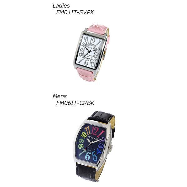 【ペアウォッチ】 ペア フランク三浦 腕時計 インターネッツ別注 FM06IT-CRBK FM01IT-SVPK