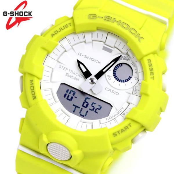 カシオCASIOGショックG-SHOCKジーショック腕時計G-SQUADジースクワッドSSeries メンズレディースイエローG