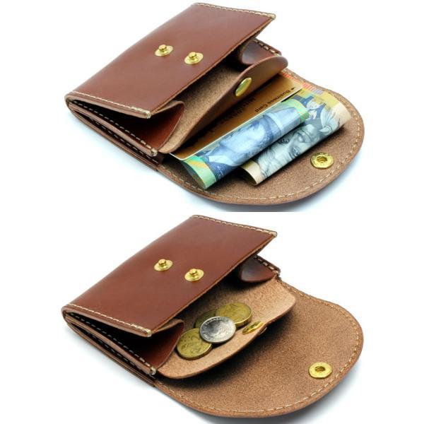 最上級 栃木レザー ミニウォレット ミニ財布 日本製 ハンドメイド 手のひらサイズ JP-3000|hapian|02