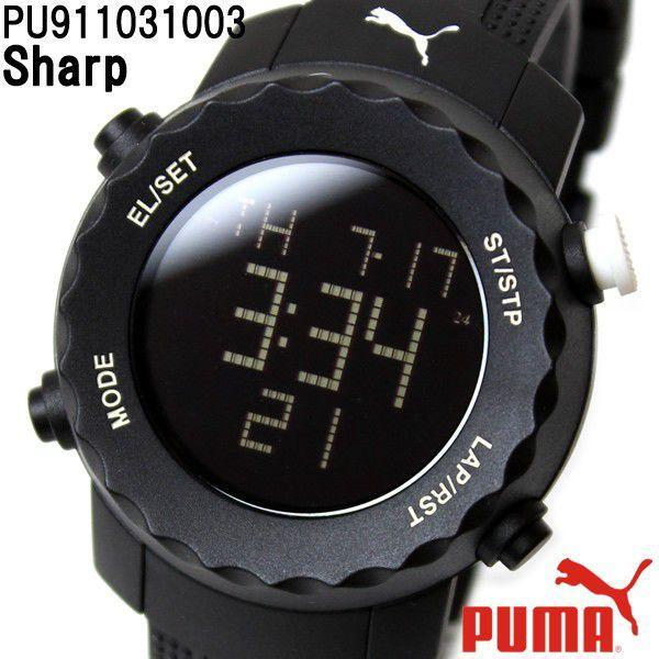 finest selection cfe2e 50d9c PUMA プーマ 腕時計 ユニセックス Sharp シャープ 腕時計 ...