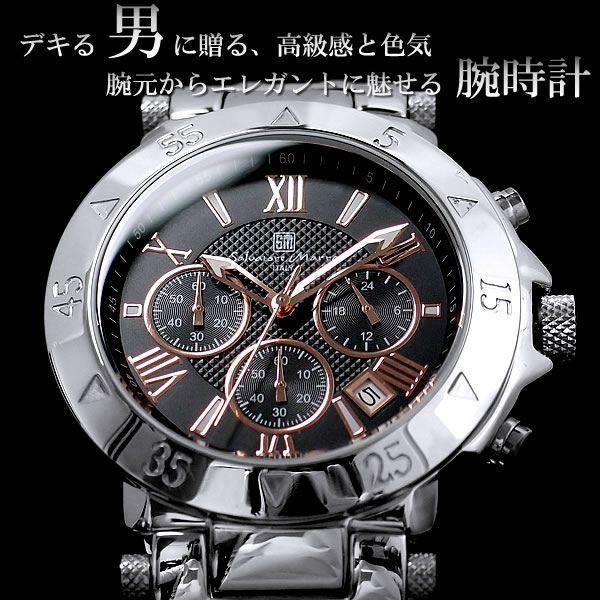 クロノグラフ クロノグラフ腕時計 SalvatoreMarra|hapian|02