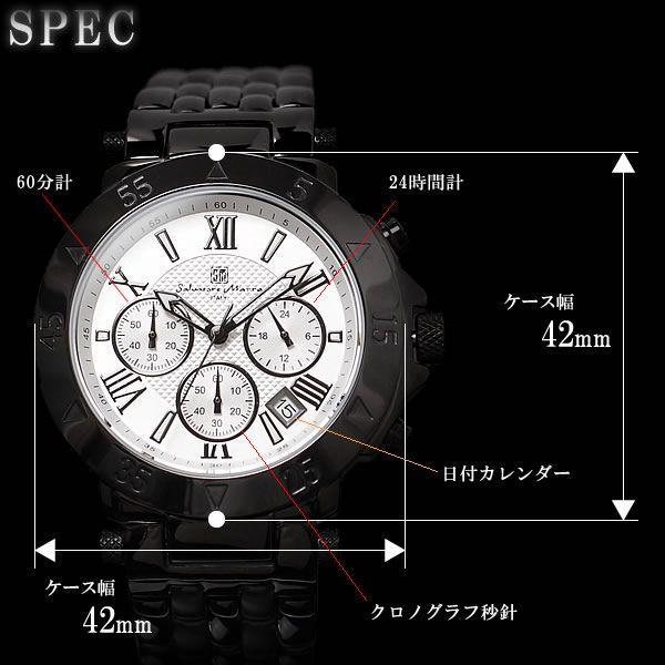 クロノグラフ クロノグラフ腕時計 SalvatoreMarra|hapian|05
