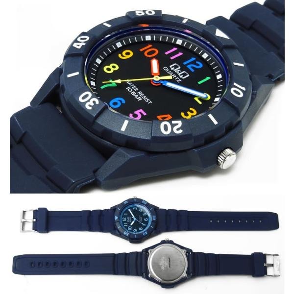 腕時計 シチズン Q&Q スポーツウォッチ 10気圧防水 ユニセックス 腕時計|hapian|02