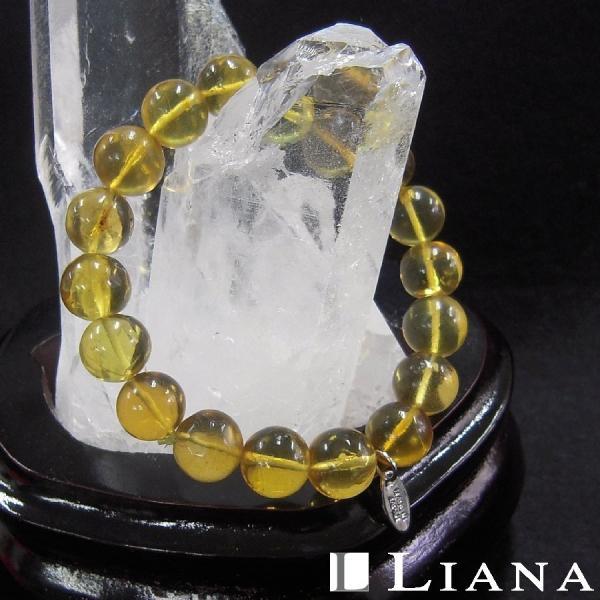 パワーストーンブレスレット アンバー 琥珀 ブレスレット 天然石 LJY539
