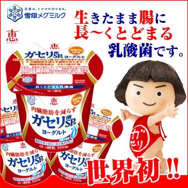 送料無料/ガセリ菌/恵megumiガセリ菌SP株ヨーグルト100g×12個/雪印メグミルク