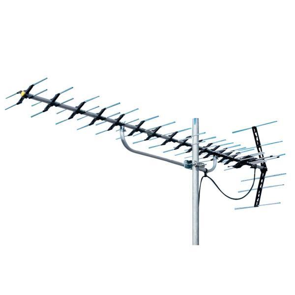 マスプロ電工 地上デジタル放送受信用 家庭用 高性能UHFアンテナ 20素子 LS206