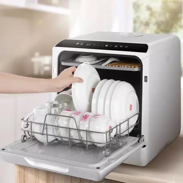 AINX 食器洗い乾燥機 工事不要 食洗機 卓上 ブラック 家電製品 AX-S3W|happinesnet-stora|02