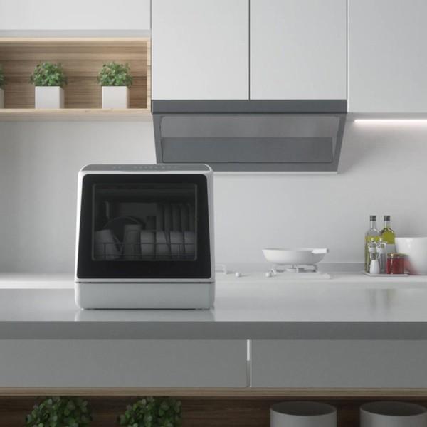 AINX 食器洗い乾燥機 工事不要 食洗機 卓上 ブラック 家電製品 AX-S3W|happinesnet-stora|07