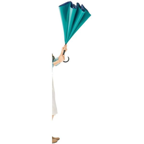 逆さ傘 逆さま傘 レディース ギフト 粗品 販促品 プレゼント ノベルティ|happinesnet-stora|04
