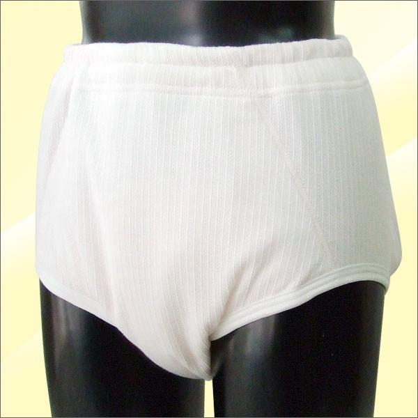 尿漏れパンツ 女性用 ヨコ漏れガード付き 重失禁ショーツ 300cc 3Lサイズ|happiness7-store|06