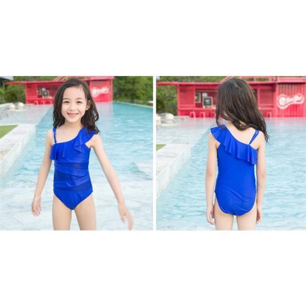 2色 超可愛 子供服 一体型 水着 女子 女児  子供 海水浴 練習 温泉 水着  サロペット キッズ 女の子  女児用 キッズ  アウトドア happinesscamel 02