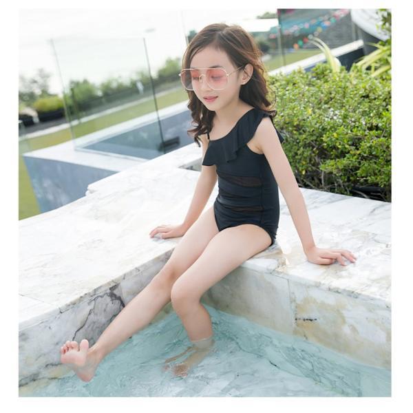 2色 超可愛 子供服 一体型 水着 女子 女児  子供 海水浴 練習 温泉 水着  サロペット キッズ 女の子  女児用 キッズ  アウトドア happinesscamel 06