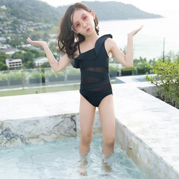 2色 超可愛 子供服 一体型 水着 女子 女児  子供 海水浴 練習 温泉 水着  サロペット キッズ 女の子  女児用 キッズ  アウトドア happinesscamel 08