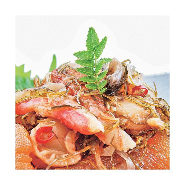 ギフト 松前漬け 北海道 数の子 海鮮松前漬  1kg(200g×5袋) 北海道 郷土料理 豪華 数の子 帆立貝 つぶ貝 ズワイガニ  がごめ昆布使用 ギフト