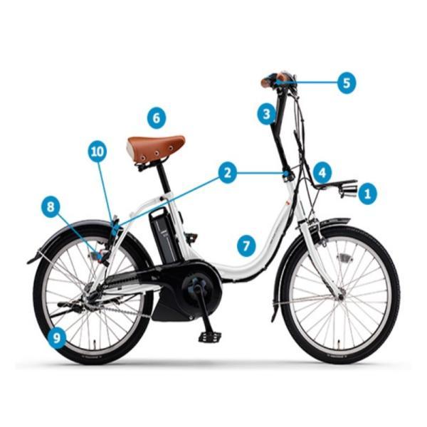 電動自転車 レンタル 1ヶ月 ヤマハ PAS CITY C(パス シティ シー)12.3Ah 20インチ 自社便エリア対象(送料無料)|happy-cycle-setagaya|02