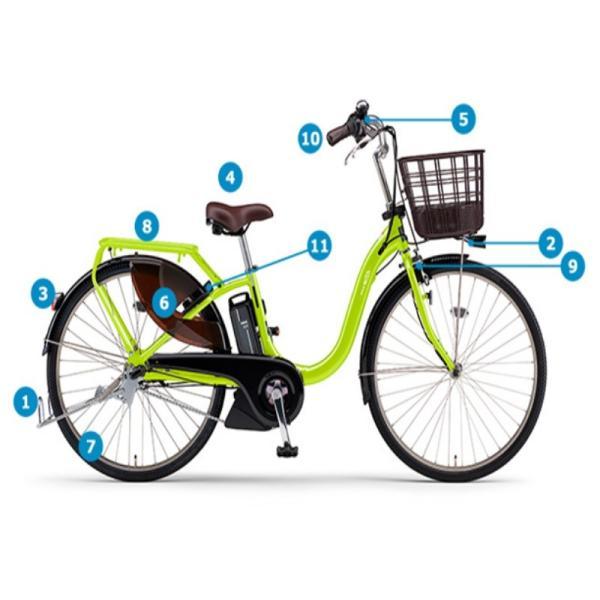 電動自転車 レンタル 1ヶ月 ヤマハ PAS With(パスウィズ)12.3Ah 26インチ 自社便エリア対象(送料無料)|happy-cycle-setagaya|02