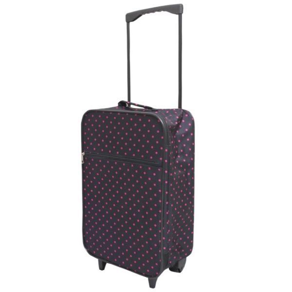 キャリーケース かわいい ソフトキャリーバッグ 軽量 ぺちゃんこに収納 レディース おしゃれな トラベルバック 2輪 旅行バッグ