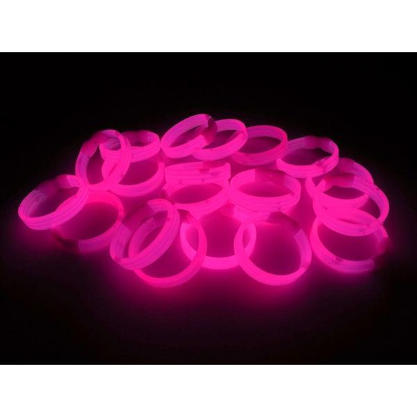 ナイトライト ブレスレット 20本セット 全4色  | ルミカライト サイリウム サイリウムライト 光る 発光スティック リストバンド ブレスレット 腕輪 バンド ||happy-joint|04