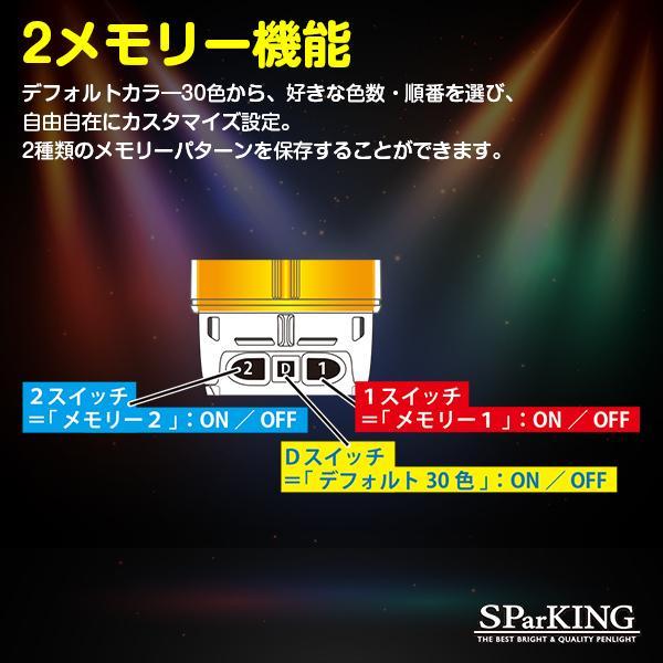 ミックスペンラ PRO キラキラ / ホワイト S・Mサイズ カラーチェンジ 24色 ターンオン ペンライト 電池式 コンサート ライブ|happy-joint|03
