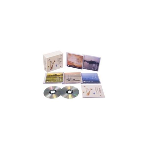ハープで綴る日本のうた世界のうた〔CD5枚組全87曲〕ハープ演奏:内田奈織歌詞・解説ブックレットカートンボックス収納